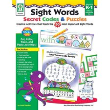 Sight Words Secret Codes and Puzzles Book
