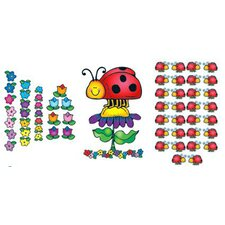 Ladybugs Bulletin Board Cut Out Set