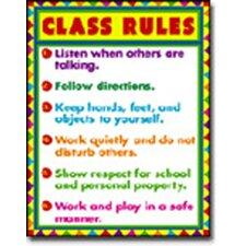 Class Rules Chart (Set of 3)