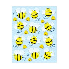 Bees Shape Sticker (Set of 216)