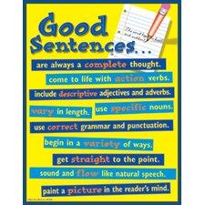 Good Sentences Chart