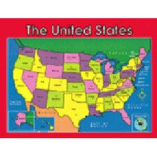 Chartlet Us Map 17 X 22 (Set of 3)