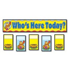 Attendance Replacement Bulletin Board Cut Out (Set of 2)