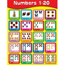 Numbers 1-20 Chart (Set of 3)