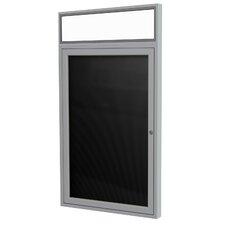 1-Door Aluminum Enclosed Letter Board