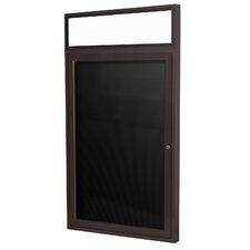 1-Door Enclosed Letter Board