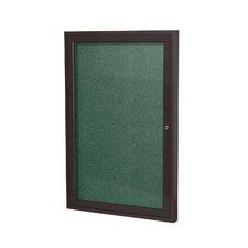 1 Door Outdoor Enclosed Bulletin Board