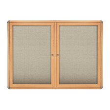 Ovation Door Enclosed Bulletin Board