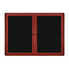 2-Door Ovation Changeable Wall Mounted Letter Board