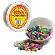 Neon Barrel Beads (Set of 2)