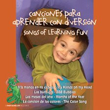 Canciones Divertidos De Aprender CD