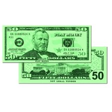 $50 Bills (Set of 150)