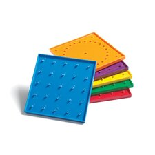 """6"""" Double Sided Geoboards"""