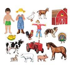 My Farm Friends Bulletin Board Cut Out Set