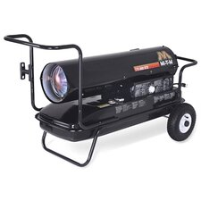 215,000 BTU Portable Kerosene Forced Air Utility Heater