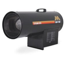 375,000 BTU Portable Propane Forced Air Utility Heater