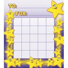 Smiley Stars Motivational Chart (Set of 3)