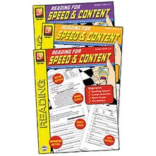 Reading for Speed and Content Book (Set of 3)