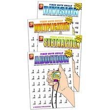 Timed Math Drills Book