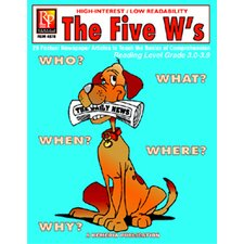 The 5 Ws 3rd Grade Reading Level Book