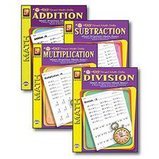 Easy Timed Math Drills Book (Set of 4)
