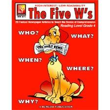 The 5 Ws 4th Grade Reading Level Book