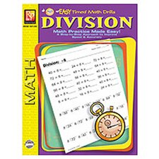 Easy Timed Math Drills Division Book