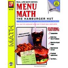 Menu Math Hamburger Hut Book