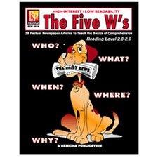 The 5 Ws 5th Grade Reading Book