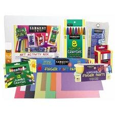 8 Piece Children's Art and Activity Kit for the Beginner Artist Set