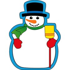 Large Snowman Notepad