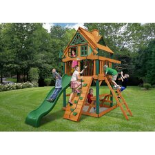 Chateau Treehouse Tower Swing Set