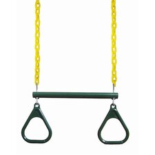 "17"" Trapeze Bar with Rings"