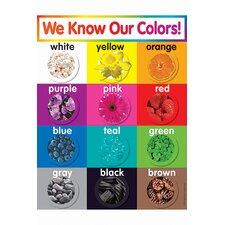 Colors Grade Pk-5 Chart