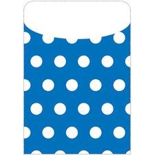 Brite Pockets Polka Dots File Folder (Set of 2)