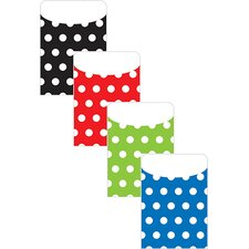 Brite Pockets Polka Dot File Folders (Set of 2)
