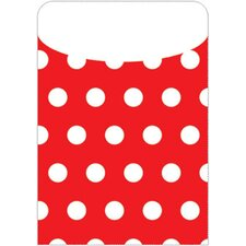 Brite Pockets Polka Dots File Folder