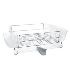 Good Grip Folding Stainless Steel Dish Rack