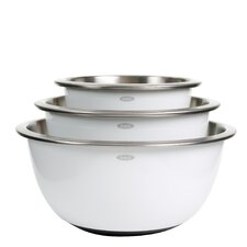Good Grip 3 Piece Stainless Steel Mixing Bowl Set
