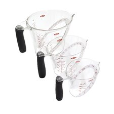 Angled 3 Piece Measuring Cup Set