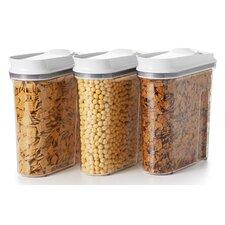 Good Grips Triple Pop Cereal Dispenser Set (Set of 3)