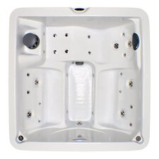 5-Person 30-Jet Plug and Play Spa with LED lights and Waterfall