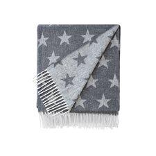 Reversible Star Jacquard Throw Blanket
