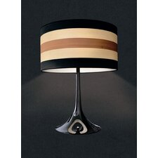 "Malivizi 25.59"" H Table Lamp with Drum Shade"