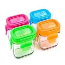 Garden 4-Piece Food Storage Container Set (Set of 4)