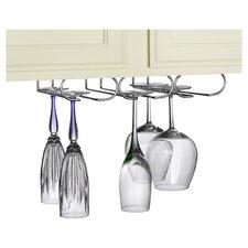 Triple Hanging Wine Glass Rack