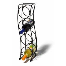 Curve 4 Bottle Tabletop Wine Rack