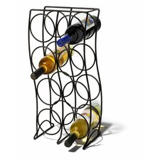 Curve 8 Bottle Tabletop Wine Rack