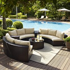 Catalina 6 Piece Deep Seating Group with Cushions