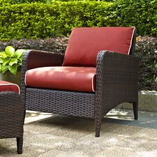 Kiawah Arm Chair with Cushions